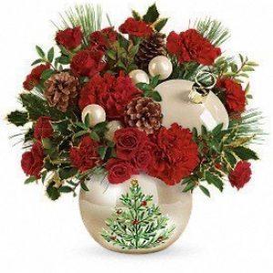 Classic Pearl Ornament Bouquet