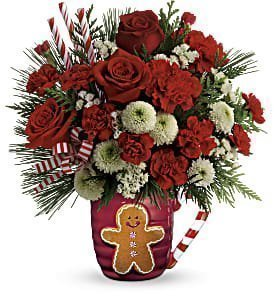 Winter bouquet in A Mug