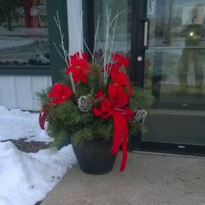 Decorative Holiday Planter