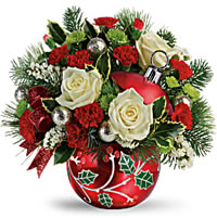 Holiday Ornament Bouquet