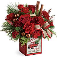 Merrry Vintage Christmas Bouquet