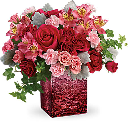 Pink Cube Bouquet