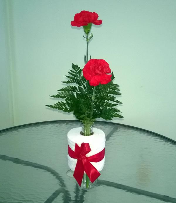 Coronavirus Vase