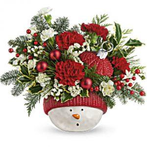 Snowman  Bouquet
